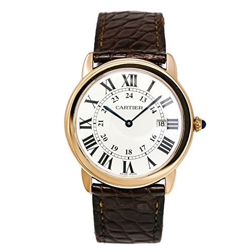 Cartier Ronde Solo Quartz Male Watch (Certified Pre-Owned)