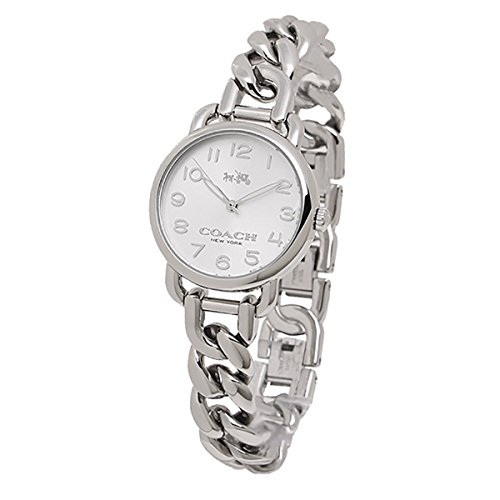 Coach Women's Delancey Stainless Chain Link Bracelet Watch