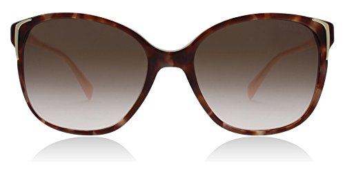 Prada Spotted Brown/Pink Round Sunglasses Lens Category