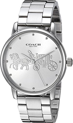 COACH Women's Grand Silver One Size