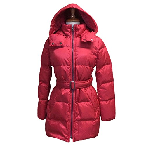 Coach Women's Center Zip Puffer Jacket Coat F83993 Pink Scarlet S L XL $498 (L)