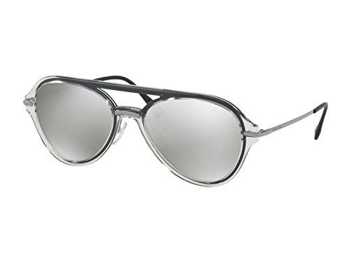 Prada Linea Rossa Unisex Grey/Gunmetal/Light Grey Mirror Silver One Size