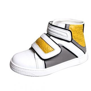 Gucci Kids Unisex Leather High-top Coda Pop Sneakers