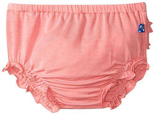 Kickee Pants Baby Girls' Solid Bloomer Prd-kpb708-Dr, Desert Rose, 3-6 Months