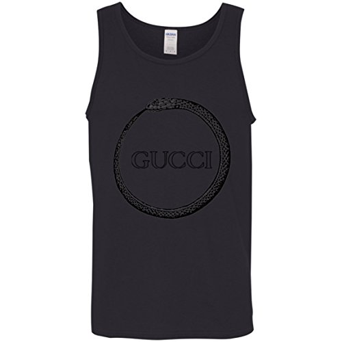 Gucci Shirt Ouroboros Cotton Tank Top Gucci Shirt Ouroboros Cotton Tank Top