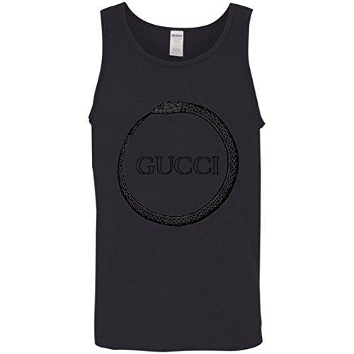 Gucci Shirt Ouroboros Cotton Tank Top Gucci Shirt Ouroboros Cotton Tank Top