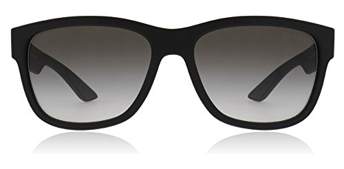 Prada Linea Rossa Men's Black Rubber/Grey Gradient