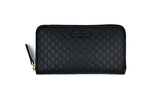 Gucci Guccissima Leather Continental Large Clutch Wallet