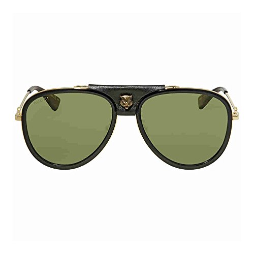Sunglasses Gucci GG GOLD/GREEN