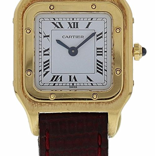 Cartier Santos Dumont mechanical-hand-wind womens Watch (Certified Pre-owned)