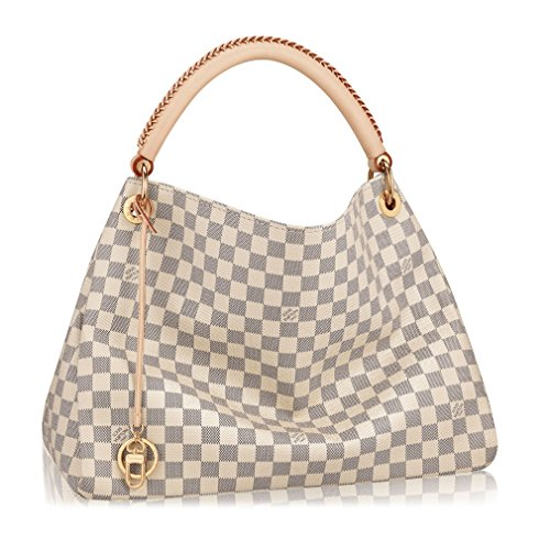 Louis Vuitton Damier Canvas Artsy MM Handbag Article: Made in France