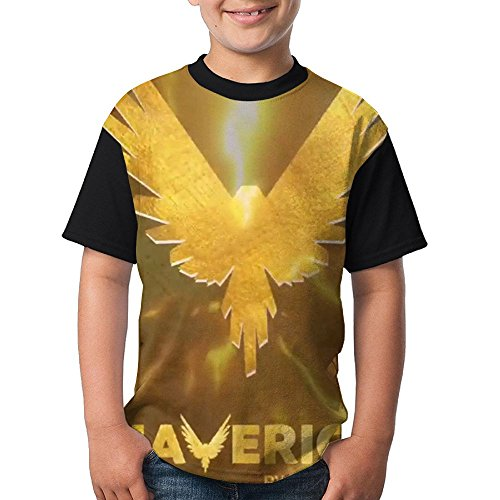 KOHDIAS Logan Paul Maverick Boys Raglan Short Sleeves Undershirt