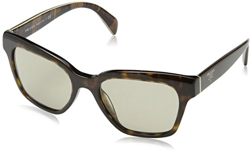 Prada Unisex Brown Sunglasses