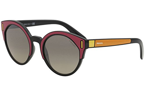 Prada Women's Colorblock Sunglasses, Fuchsia Multi/Grey, One Size