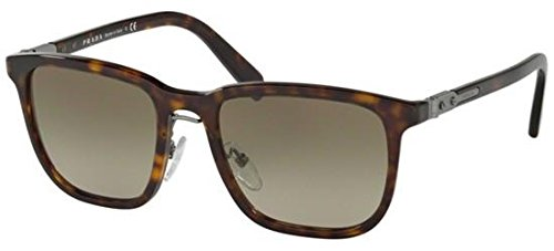 Prada Men's Havana/Brown Gradient Sunglasses