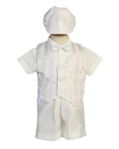 Baby Toddler Boys Christening Vest & Bowtie w/Short Set Infant-Toddler Richard L