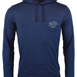 Polo Ralph Lauren Men's Long Sleeve Graphic Jersey Hoodie - XXL - Navy Blue