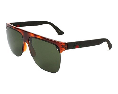 Gucci GG HAVANA/GREEN BROWN Sunglasses