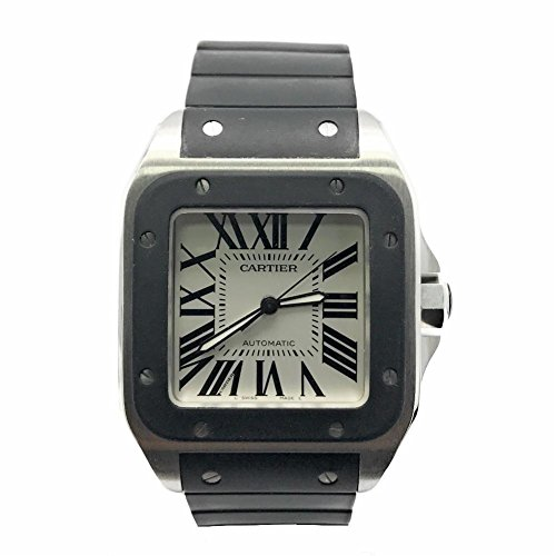 Cartier Santos 100 swiss-automatic mens Watch (Certified Pre-owned)