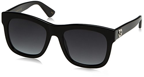 Gucci Sunglasses 001 Black / Grey 54mm