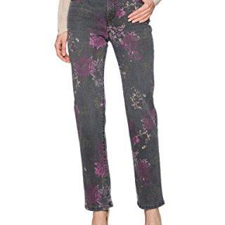 Bandolino Women's Mandie 5 Pocket Jean, Black Combo, 10