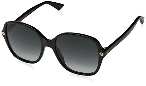 Gucci Black Square Sunglasses Lens Category 3 Size 55mm