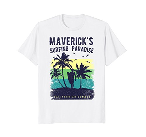 Maverick's California Surfing Paradise T-Shirt