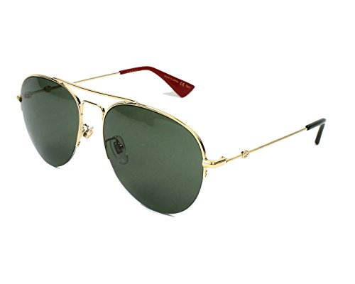 Gucci GG GOLD/GREEN Sunglasses