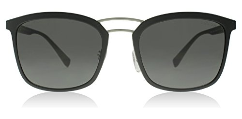Prada Sport Black Rubber Square Sunglasses Lens Category 3 Siz