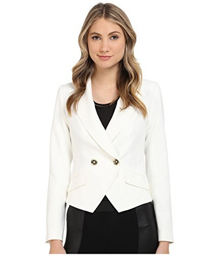 Trina Turk Women's Johan Jacket Whitewash Jacket 2