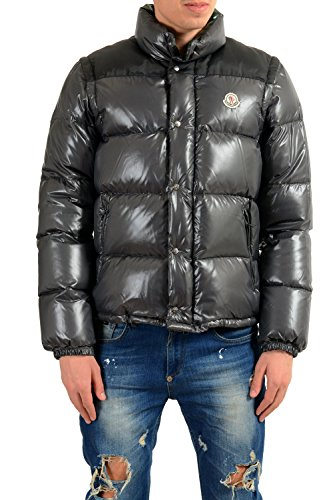 Moncler Men's Andersen Down Parka with Detachable Sleeves Sz 3 US M