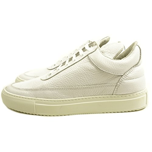 Filling Pieces Men's Low Top Classic White (SIZE: 40)