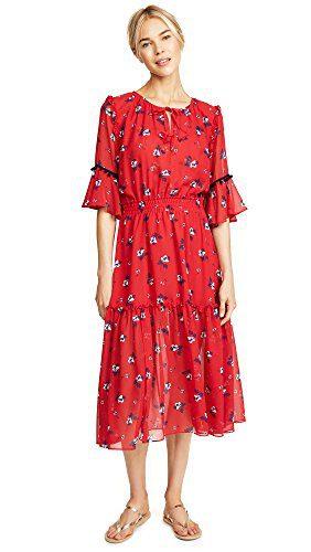 Misa Women's Raquel Dress, Garnet Garnet, Extra Small