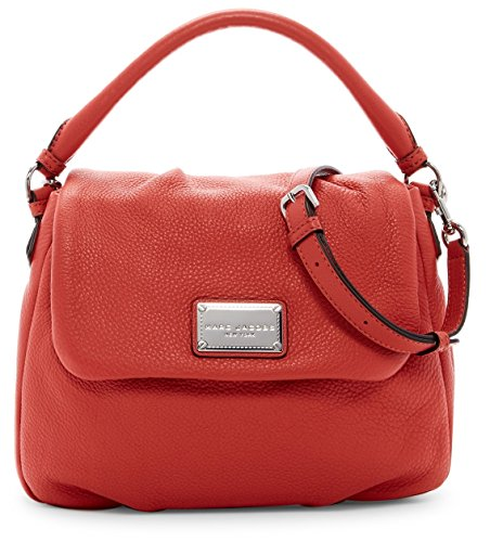 Marc Jacobs Classic Leather Shoulder Bag (Salmon)
