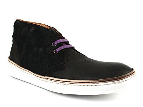 Robert Graham Men's Horace Fashion Sneaker, Black, 11.5 M US