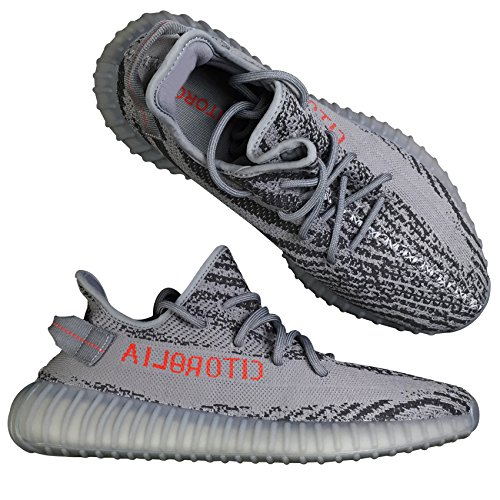UADREAMLTD Hottest Luxury Design Sneakers 2018 New Dark Solid Grey Beluga Shoes US10 Men