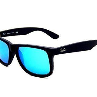 Ray Ban 622/55 Black/ Blue Mirror 55mm Sunglasses