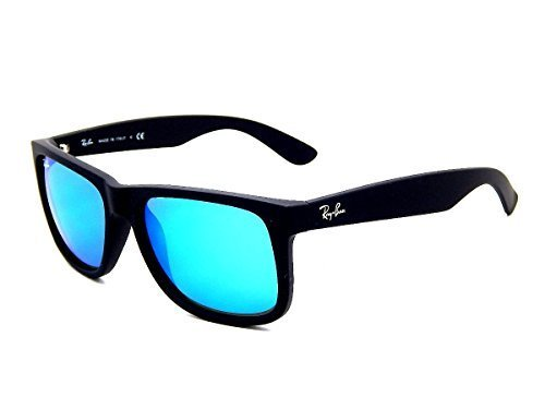 Ray Ban 622/55 Black/ Blue Mirror 55mm Sunglasses
