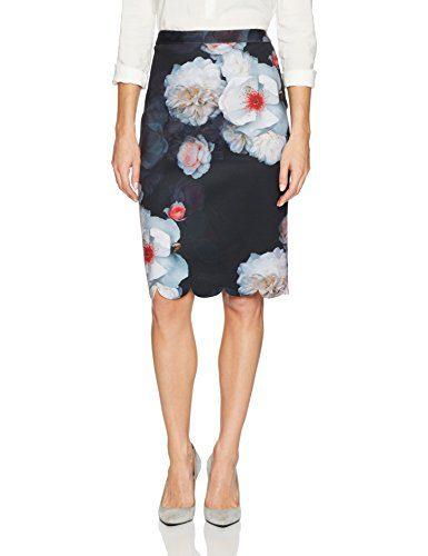 Ted Baker London Women's Laylie Skirt, Black, 3