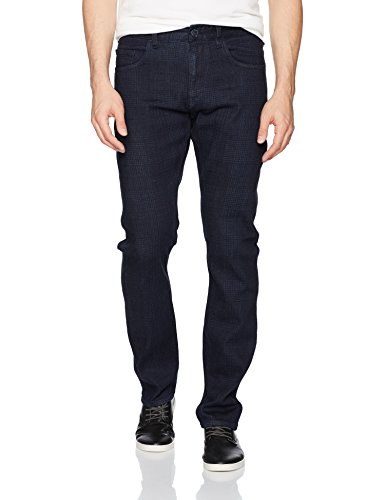 Robert Graham Men's Vagrant Tailored Fit Denim, Indigo, 34