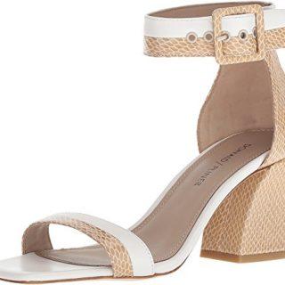 Donald J Pliner Women's Watson Sandal, Sand/Off White, 8 M US