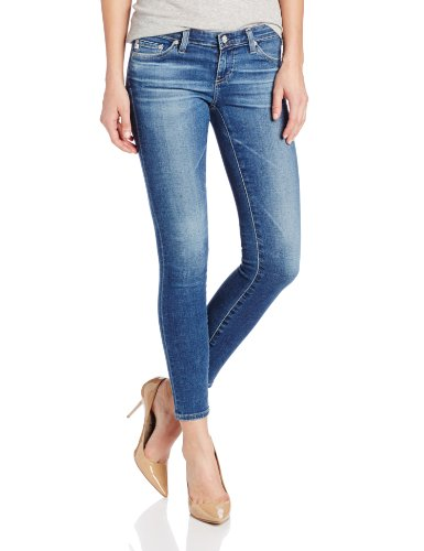 AG Adriano Goldschmied Women's Legging Ankle Jeans, 18 Years/Blue, 25
