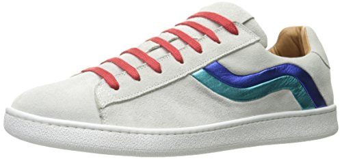 Marc Jacobs Men's Fashion Sneaker, White Combo, 44 EU/10 N US