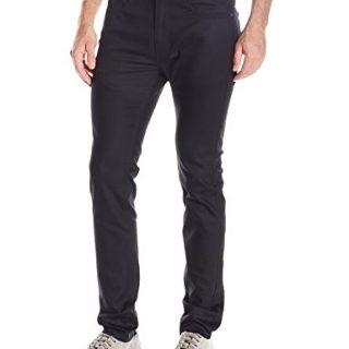 Publish Brand INC. Men's Slim Classic 5 Pocket Pant, Black, 34