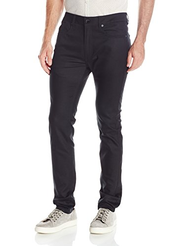 Publish Brand INC. Men's Slim Classic 5 Pocket Pant, Black, 34