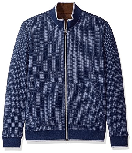 Robert Graham Men's Classic Fit Knit Full Zip Reversible Sweater