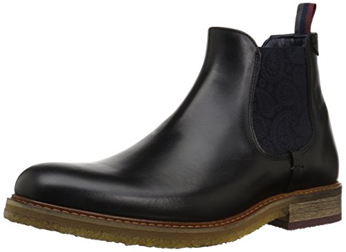 Ted Baker Men's Bronzo Lthr AM Chukka Boot, Black, 13 M US