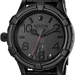 Nixon Men's '51-30 SW, Vader' Quartz Stainless Steel Casual Watch, Color:Black