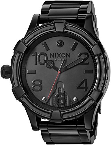 Nixon Men's '51-30 SW, Vader' Quartz Stainless Steel Casual Watch, Color:Black