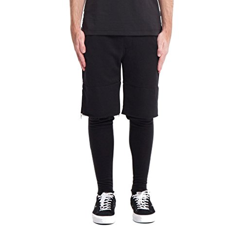 Publish Men's Braylon Short Leg Panel Black (SIZE: 34)